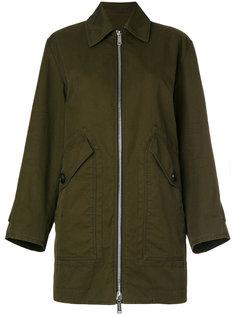 пальто милитари на молнии  Dsquared2