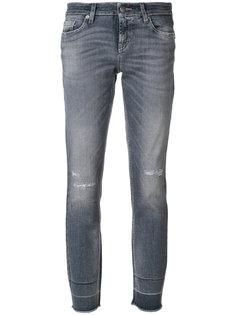 укороченные джинсы Liu Cambio