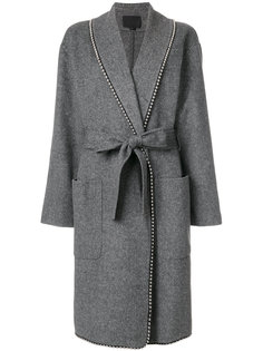 пальто свободного кроя с завязками Alexander Wang