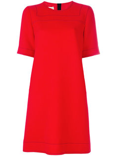 классическое платье шифт  Marni