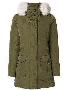 куртка с меховой отделкой Peuterey
