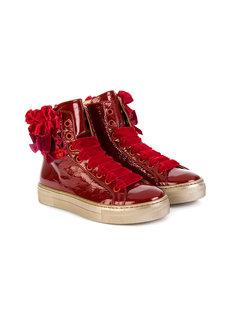 ботинки на шнуровке Quis Quis