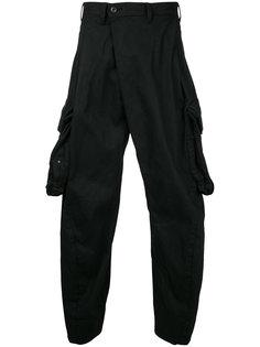 брюки с накладными карманами Julius