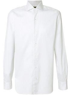 приталенная рубашка с длинными рукавами Barba