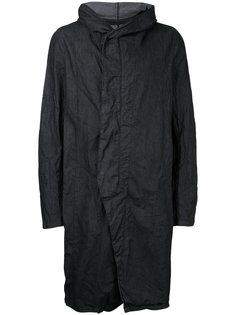 пальто с капюшоном Julius