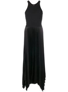плиссированное платье  Theory