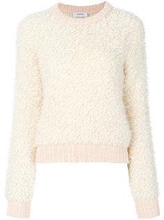 ворсистый свитер Carven