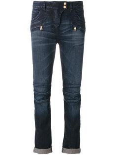 укороченные джинсы Balmain