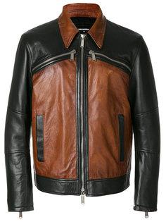 куртка с контрастными панелями Dsquared2