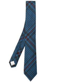 классический клетчатый галстук Valentino