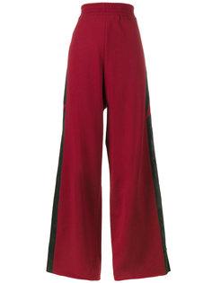 мешковатые спортивные брюки со звездами и полосками Golden Goose Deluxe Brand