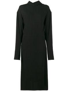 платье с воротником сзади и длинными рукавами Marni