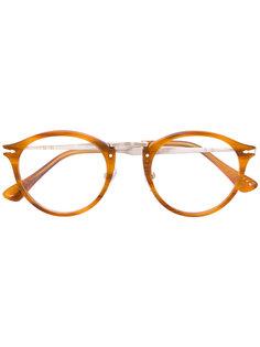 очки в округлой оправе Persol