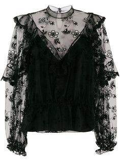 блузка с вышивкой Chloé