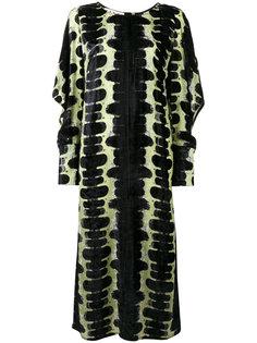 платье деворе с принтом Marni