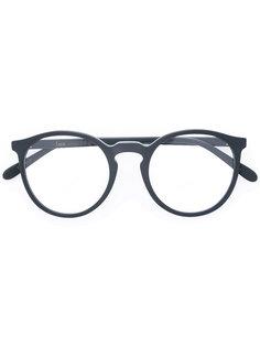 очки с круглой оправой Lesca