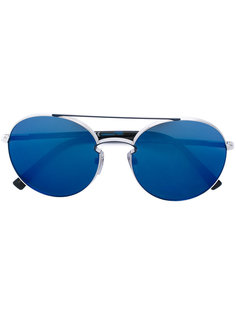 классические солнцезащитные очки-авиаторы Valentino Eyewear