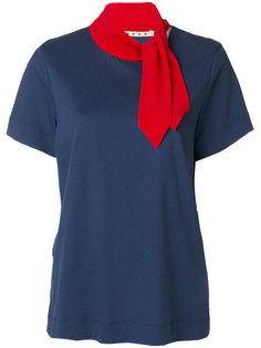 футболка с шарфом Marni