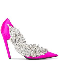 туфли Slash с декорацией из бусин Balenciaga