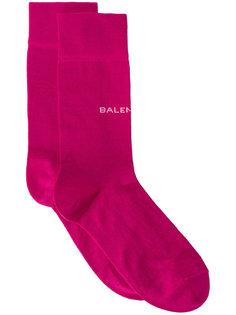 носки с логотипом New Balenciaga