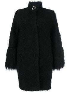 пальто с пушистым эффектом Blugirl