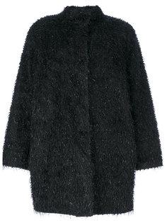 пушистое пальто Blugirl