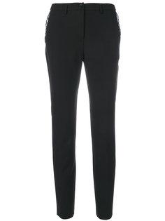 узкие брюки с оборками Blugirl