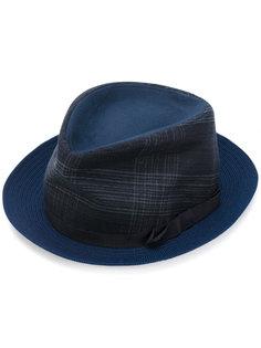 шляпа с узором в клетку Etro