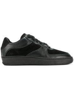 кроссовки на шнуровке с панельным дизайном Red Valentino