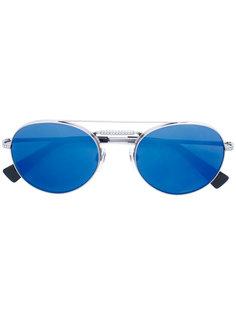 классические круглые солнцезащитные очки Valentino Eyewear