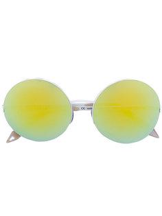 круглые солнцезащитные очки Victoria Beckham