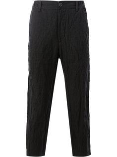 укороченные зауженные брюки Ziggy Chen