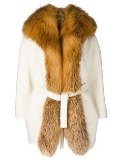 пальто-кардиган с поясом Ava Adore