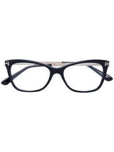 """очки в оправе """"кошачий глаз"""" Tom Ford Eyewear"""
