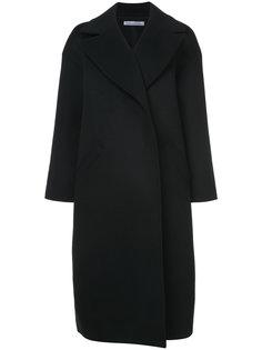 объемное пальто с приспущенными плечами Oscar de la Renta