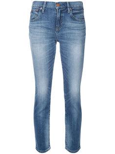 укороченные джинсы скинни  Red Card