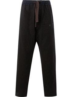 брюки с поясом на завязках Ziggy Chen