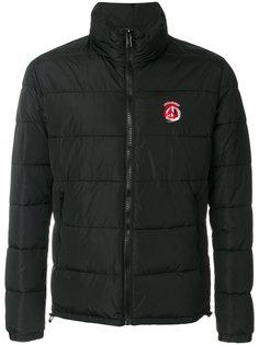 стеганая куртка с высокой горловиной Love Moschino