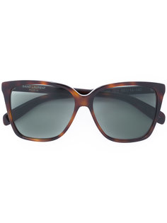 солнцезащитные очки с квадратной оправой Saint Laurent Eyewear