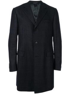 однобортное пальто Corneliani