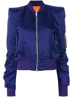 куртка-бомбер с заостренными плечами Unravel Project