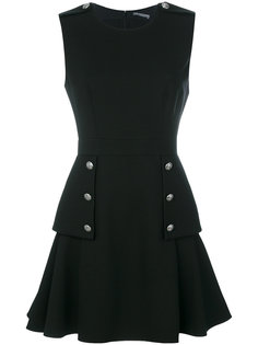платье мини на пуговицах  Alexander McQueen
