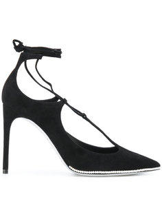 туфли с отделкой на подошве René Caovilla