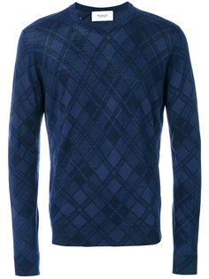 свитер с принтом в клетку Pringle Of Scotland
