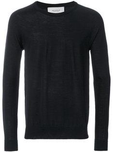 свитер с контрастной заплаткой Pringle Of Scotland