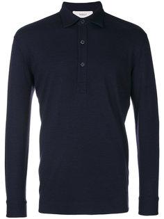 рубашка-поло с длинными рукавами Pringle Of Scotland