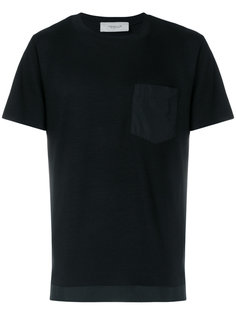 футболка с контрастным карманом Pringle Of Scotland