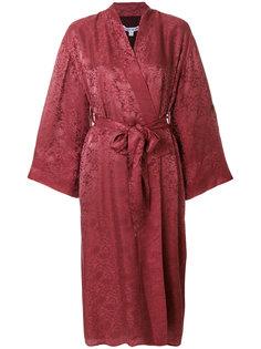 бордовое кимоно Elizabeth And James