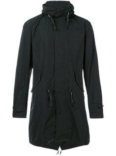 пальто с капюшоном и шнурком на талии Closed