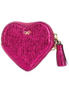 кошелек для монет в форме сердца Anya Hindmarch